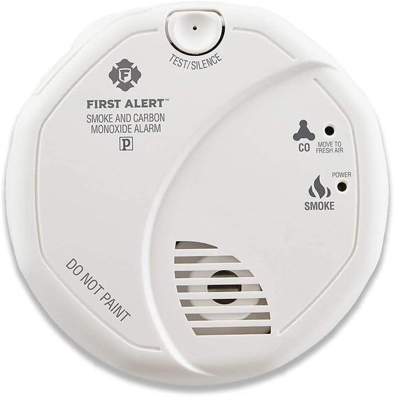 Detector Sensor De Monóxido De Carbono Y Humo First Alert