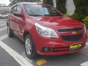 Chevrolet Agile 1.4 Ltz 5p 2010 Vermelho Completo
