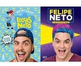 Kit Livro Novo Luccas Neto E Felipe Neto Vol 2 (2 Livros)