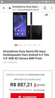 Vendo Ou Troco Celular Sony Xperia Bom Nao Tem O Carregador