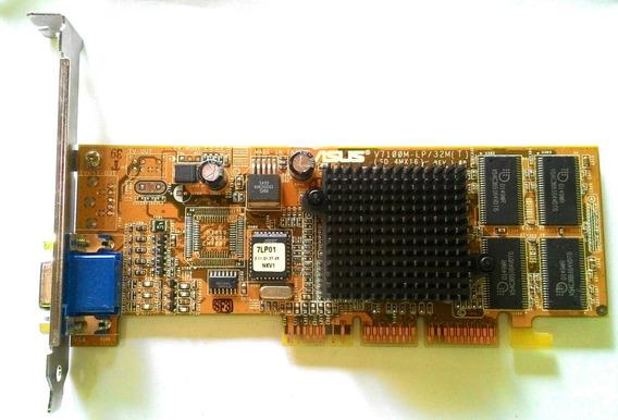 Placa De Vídeo Asus Geforce V7100m Lp/pure/32m/s (atx)