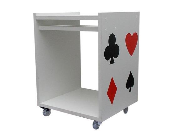 Aparadores Para Mesas De Poker / Carteado (carrinho)