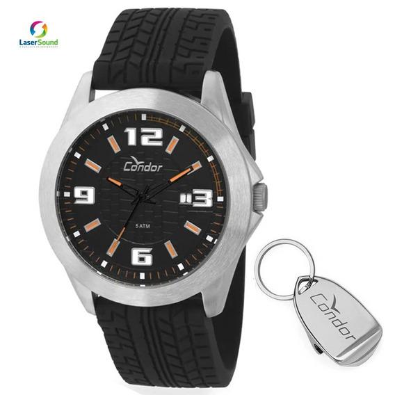 Kit Relógio Condor Masculino Co2115tx/k8y C/ Garantia E Nf