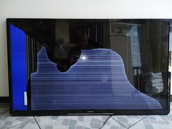 Tv Philips 47pfl4007g/78 Retirada Pecas Cliente Paga Envio.