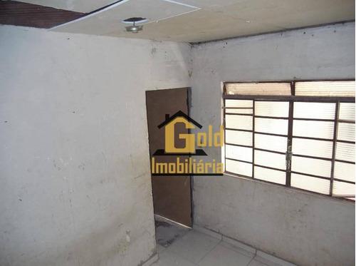 Casa Com 1 Dormitório À Venda, 76 M² Por R$ 91.000 - Ipiranga - Ribeirão Preto/sp - Ca0833