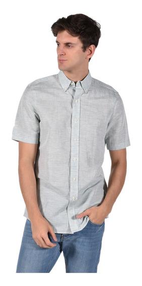 Camisa Classic Fit Chaps Verde 750689139-2yzt Hombre