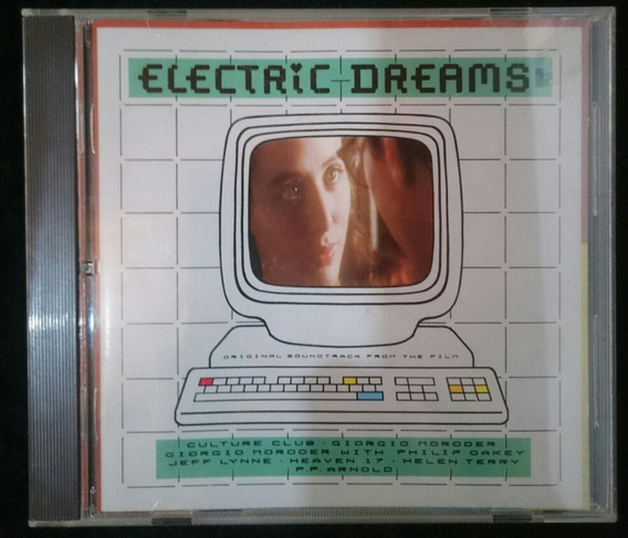 Cd Electric Dreams -giorgio Moroder Tso Seminovo