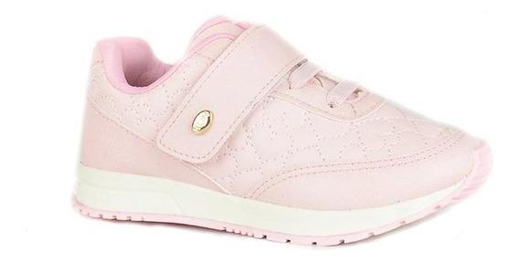 Tênis Casual Klin Baby Walk Rosa