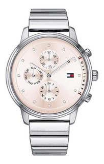 Tommy Hilfiger - 1781904 Silver Stainless Steel Para Mujer