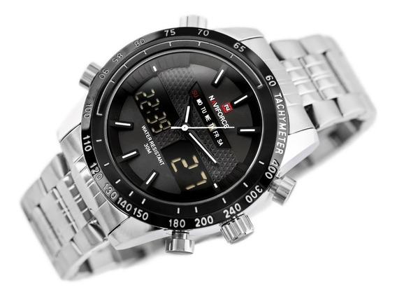 Relógio Naviforce 9024 Masculino Militar Original