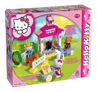 Granja Hello Kitty Sanrio - Compatible Con Lego Envio Gratis