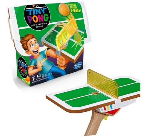 Imagen 1 de 4 de Juego De Mesa Tiny Pong Individual Tenis Mesa Hasbro Gaming