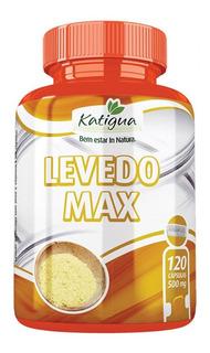 Levedo De Cerveja 500mg Com Zinco E Vit E Katigua 120 Caps