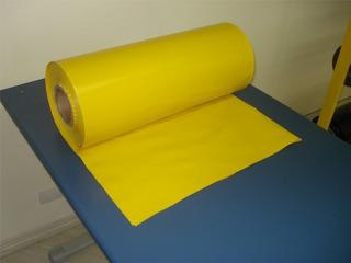 Lona Plástica Amarela 4 X 100 40kg Ref 150micras
