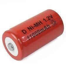 Bateria Pilha Recarregável D 1,2v 13000mah Ni-mh Vela Os 8