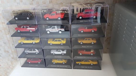 Coleção Carros Inesquecíveis Do Brasil (96 Miniaturas)