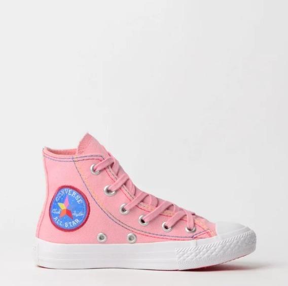 Ênis Converse Chuck Taylor All Star Kids Rosa Ck07690001