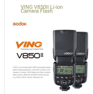 Flash Godox V850ii