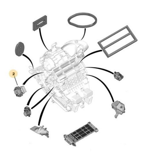Comando Motor Climatización Peugeot 505 2.2 D