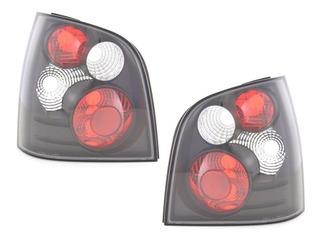Lanterna Volkswagen Polo Hatch 2002 A 2015 Máscara Negra