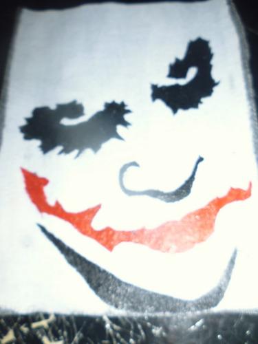 Imagen 1 de 2 de Parche Artesanal  Joker