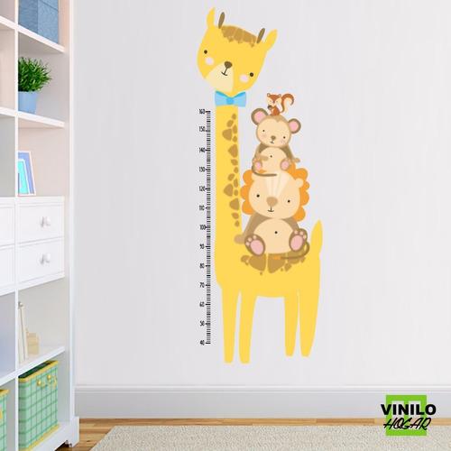 Vinilo Decorativo Medidor Infantil Jirafa