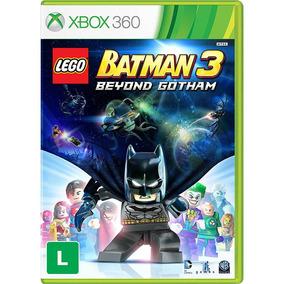 Lego Batman 3 Beyond Gotham Xbox 360 Original Lacrado Midia