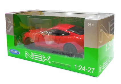Auto 1:24 2015 Ford Mustang Gt Welly Lionels 4062