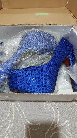 Sapato Maravilhoso Em Pedrarias