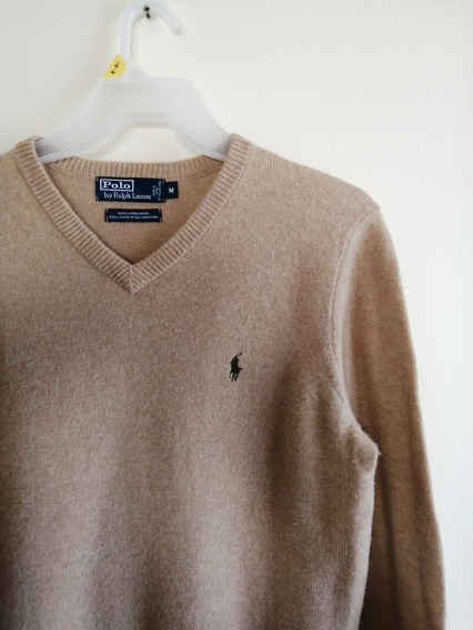 Sweater Polo Ralph Lauren Talla M 100% Lana Oveja Original