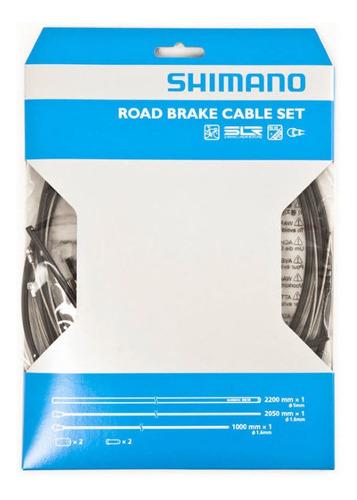 Juego Kit Cables Y Fundas Shimano Slr Frenos Bicicleta Ruta