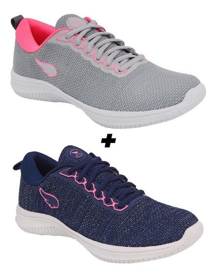 Kit Combo Tenis Feminino Adids Advance Slip Original +brinde
