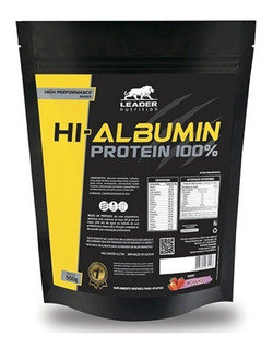 Hi Albumin Protein 100% Pure 500g - Leader Nutrition