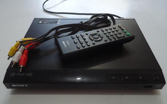 Dvd Player Sony Dvp Sr320 Com Controle Remoto E Cabo