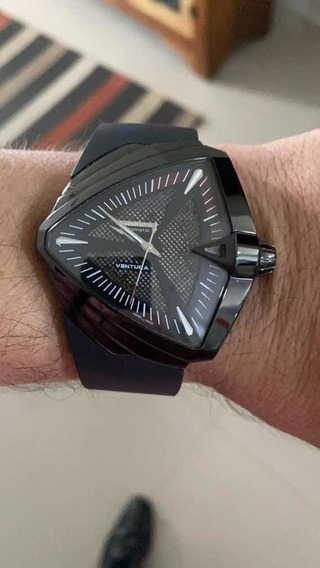 Relógio Hamilton Ventura Xxl H0012461533101 Aut.
