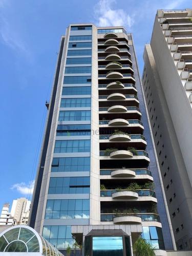 Apartamento Com 4 Dormitórios, 409 M² - Venda Por R$ 3.700.000,00 Ou Aluguel Por R$ 13.000,00 - Cambuí - Campinas/sp - Ap6316