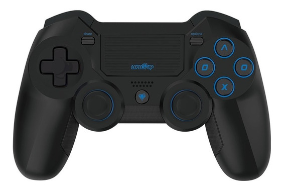 Joystick Ps4 Level Up Black Widow Gamepad Wireless