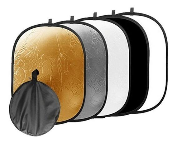 Rebatedor Oval 5 Em 1 60x90cm 5x1 60 X 90 60x90 Cm Case