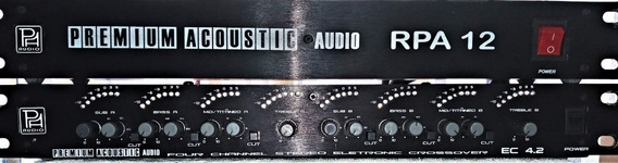 Crossover Premium Acoustic Ec4.2 Digital + Filtro Linha Prof