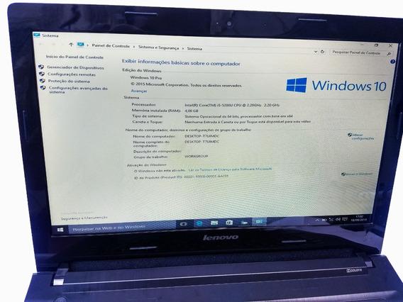 Notebook I5 Usado Lenovo G40-70 Core 5200u 2,2ghz