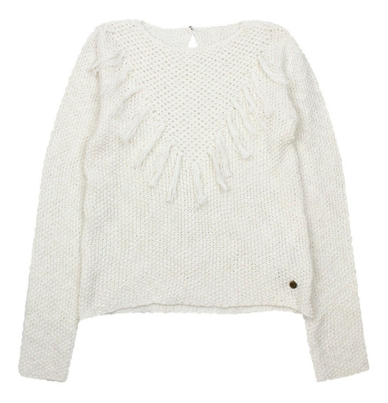 Sweater Jr Niña Indie Crudo Ficcus