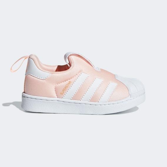 Zapatilla adidas Superstar Rosa Para Niño Tallas 22 -27 Ndpi