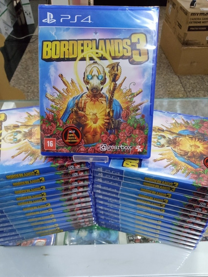 Jogo Ps4 Borderlands 3 Playstation 4 Original Portugues Lacr