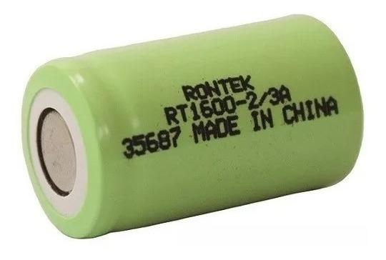Pilha Bateria 2/3a 1600mah 1,2v 10c Alta Descarga Ni-mh-