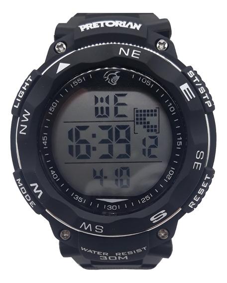 Relógio Pretorian Resist Black ( Wprt-07-1)