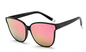 3f0175bd7 Óculos De Sol Feminino Gatinho Espelhado Rosa Novidade