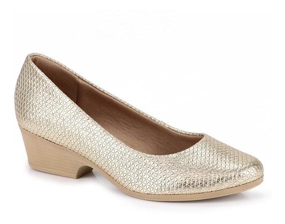 Sapato Salto Conforto Usaflex