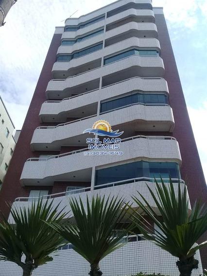 Apartamento 01 Dormitório Frente Mar-caiçara-praia Grande - Sp784