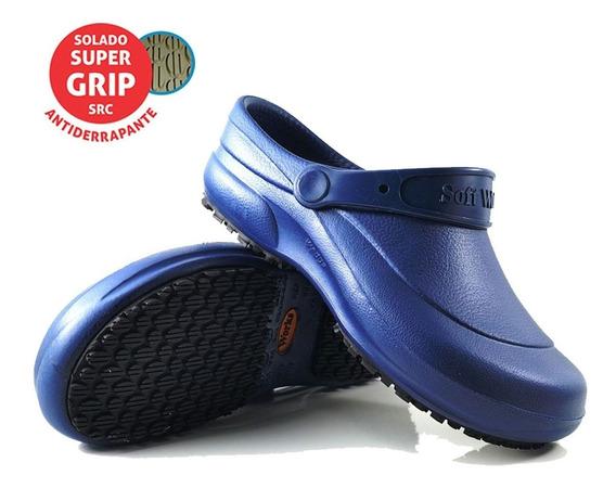 Sapato Antiderrapante Softwor Médico Cozinha Enfermagem Bb60