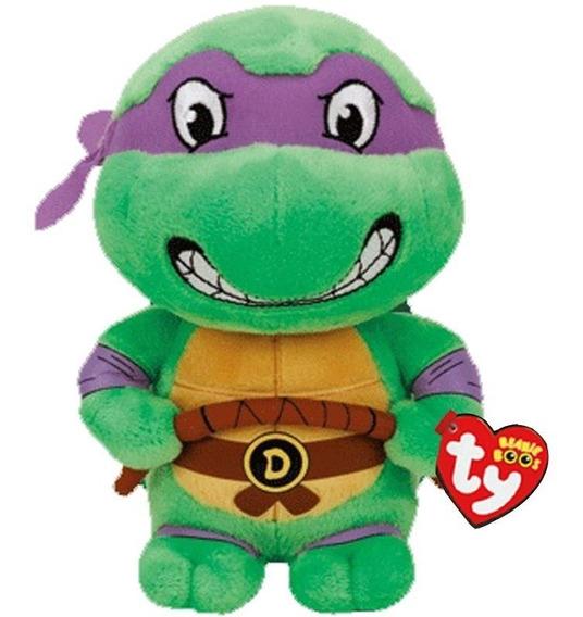 Pelucia Donatello Tartarugas Ninja Ty - Dtc